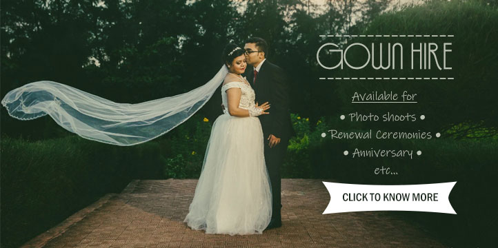 Gown Hire in Goa